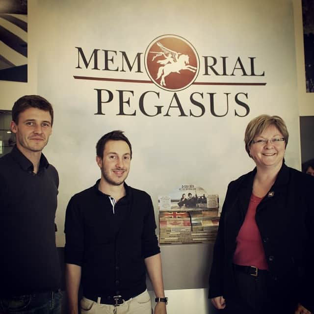 LE WIVI ET PLUS ENCORE AU MEMORIAL PEGASUS BRIDGE