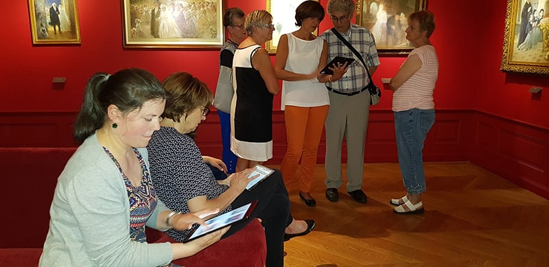 Inauguration du Wivi au musée Charles Léandre